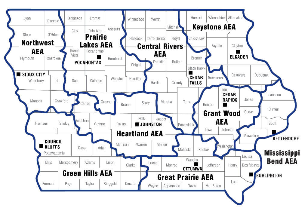 IA Counties & Education Agencies